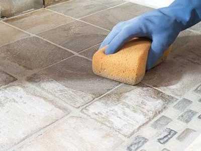 Как отмыть цементный раствор с кафельной плитки дома фибробетона