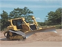 Болотный бульдозер CAT D6